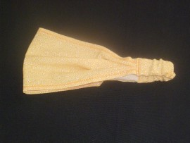 Haarband, gelb Blüten